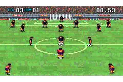 Super Formation Soccer 2 : Colombia VS Human - YouTube