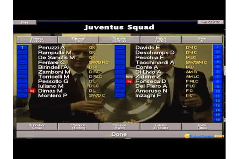 Championship Manager 97/98 gameplay (PC Game, 1997) - YouTube