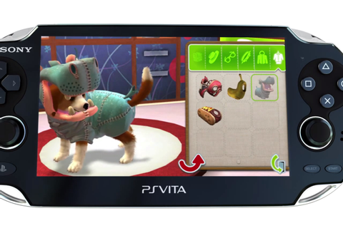 Is PlayStation Vita Pets Sony's Nintendogs?