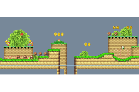 New Super Mario Bros U tilesets for New Super Mario Bros ...