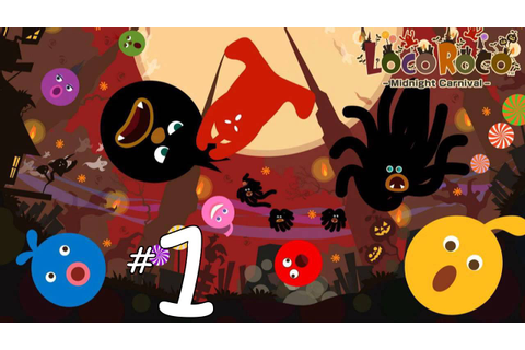 LocoRoco Midnight Carnival ⌠PSP⌡- Part 01 Recycling - YouTube
