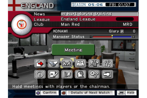 Pro Evolution Soccer Management (PS2) | Jv Games Downloads