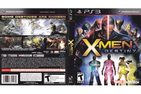 X-Men Destiny | Game Cover