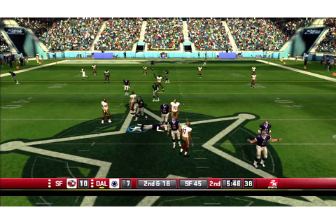 All Pro Football 2K8 Full Online Game Play NFLHITMAN ...