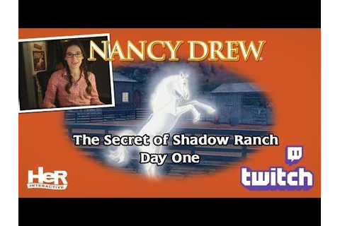 1000+ images about Nancy Drew #10: The Secret of Shadow ...