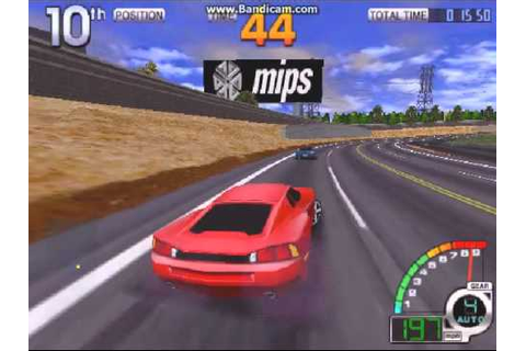 California Speed 1998 by Atari Games on MAME - YouTube