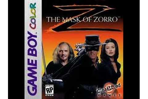 Mask of Zorro - Gameboy- Full Game No commentary ...