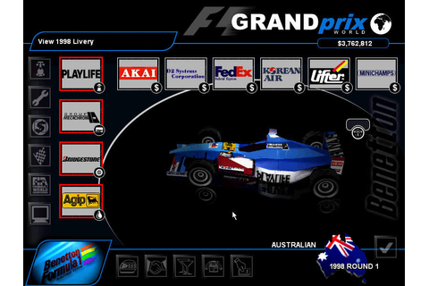 Grand Prix World Screenshots for Windows - MobyGames