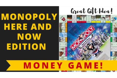 Monopoly: Here and Now Edition by Hasbro Games - YouTube