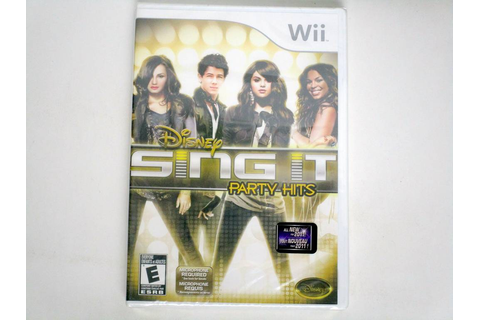 Disney Sing It: Party Hits game for Nintendo Wii | The ...
