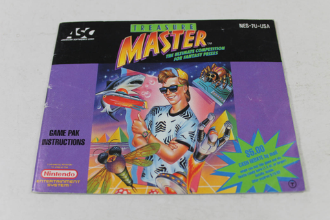 Manual - Treasure Master - Nes Nintendo Fun