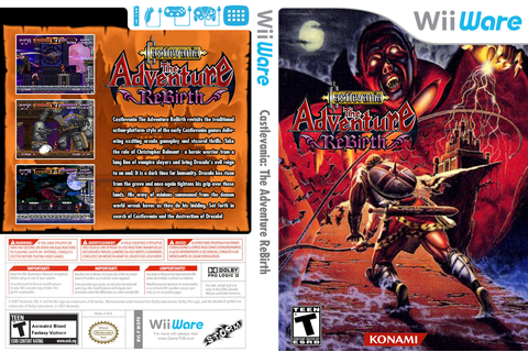 WD9E - Castlevania The Adventure ReBirth