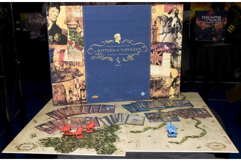 The Battles of Napoleon Board Game - a photo on Flickriver