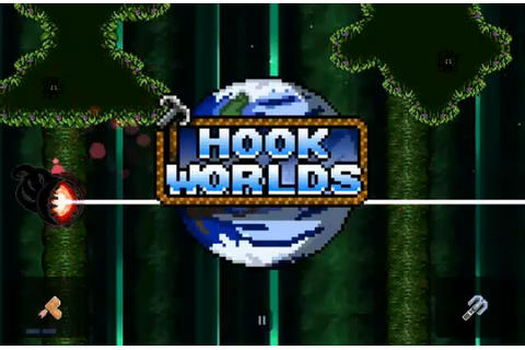 Rocketcat Games Announces Hook Worlds | 148Apps