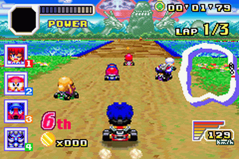 Play Konami Krazy Racers Nintendo Game Boy Advance online ...