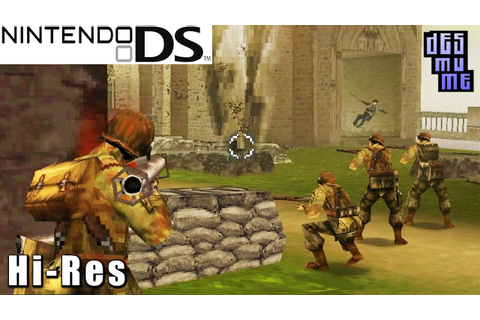 Brothers in Arms DS - Nintendo DS Gameplay High Resolution ...