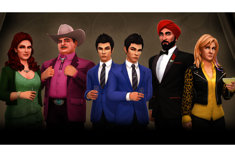 Meet SpyParty's colorful new characters | Polygon