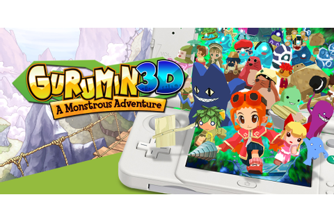 Gurumin 3D: A Monstrous Adventure | Nintendo 3DS download ...