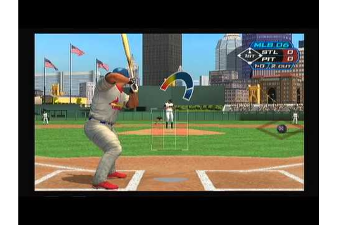MLB 06 The Show LPPS Gameplay Pt.1 (PS2) Pirates vs ...