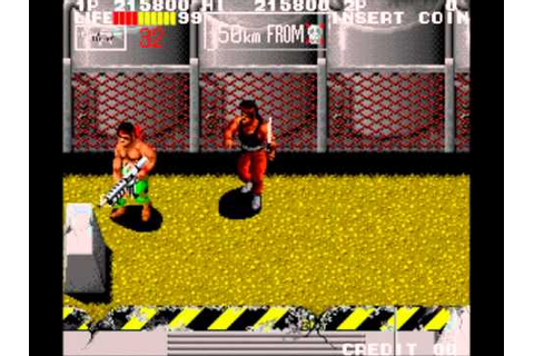 Ikari III - The Rescue (Arcade) - YouTube