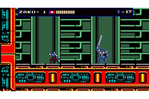 Oniken is an old-school mashup of NES action favorites