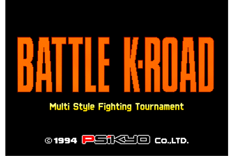 Battle K-Road: Multi Style Fighting Tournament arcade ...