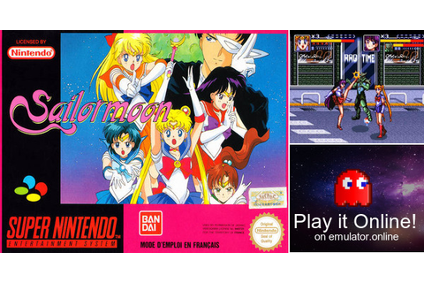Play Sailor Moon on Super Nintendo