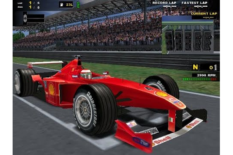 F1 Racing Championship (PC) Gameplay - YouTube