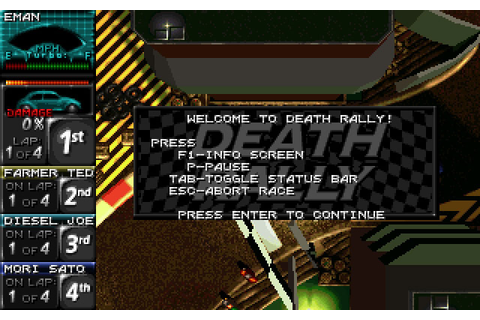 Death Rally - 3D Realms - Firepower Matters