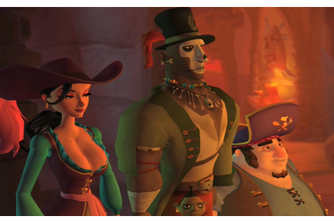 Ghost Pirates of Vooju Island review - GameZone