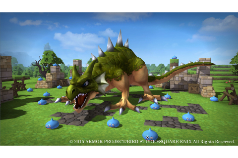PS4/PS3/PS Vita Exclusive Dragon Quest Builders Gets 1080p ...