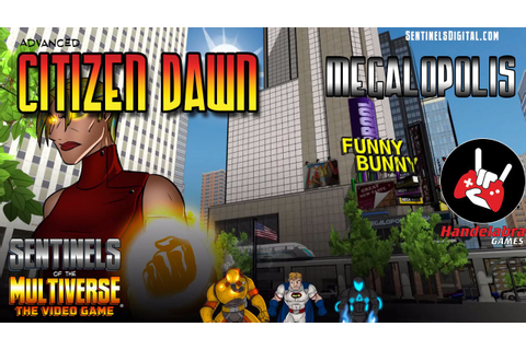 #SentinelsLive #5 (game 2) - Citizen Dawn - YouTube