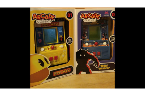 Arcade Classics 01 Pac-Man and 02 Space Invaders - YouTube