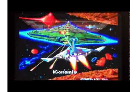 Gradius/Nemesis The Arcade Game (Konami) - YouTube