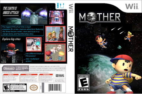 MOTHER WII game by tebited15 on DeviantArt