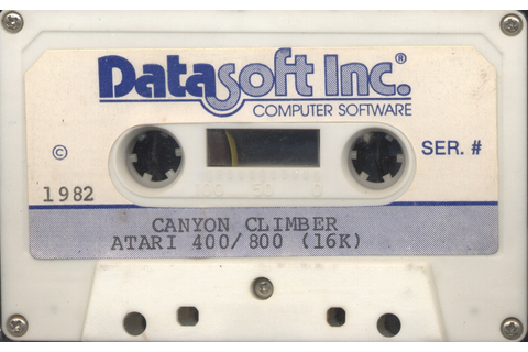 Atari 400 800 XL XE Canyon Climber : scans, dump, download ...