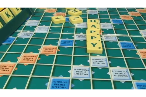 Scrabble Board Game - Mattel - YouTube