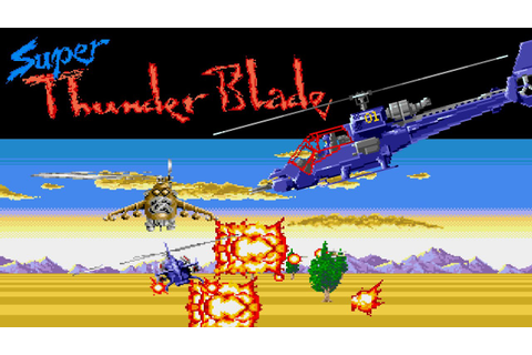 Super Thunder Blade (MD) | Playthrough - YouTube