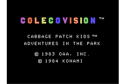 Download Cabbage Patch Kids Adventures in the Park ...