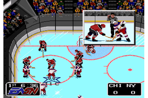 The Games We Played – NHLPA Hockey '93 (SNES) | OhGizmo!