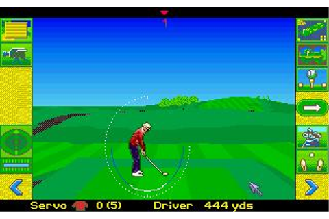 Microprose Golf Download (1991 Amiga Game)