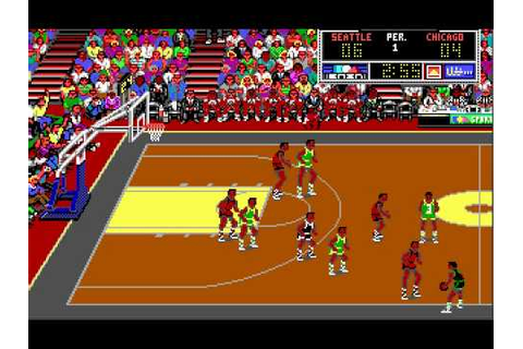 Lakers vs Celtics DOS GAME (Bulls vs Sonics) - YouTube