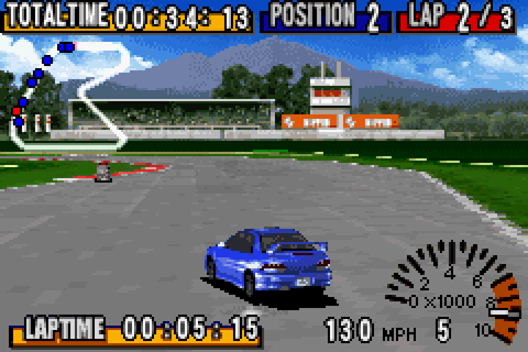 GT Advance - Championship Racing (U)(The Corporation) ROM