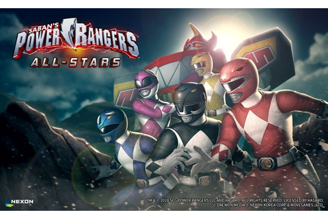 Power Rangers: All Stars Available Now | Touch Tap Play