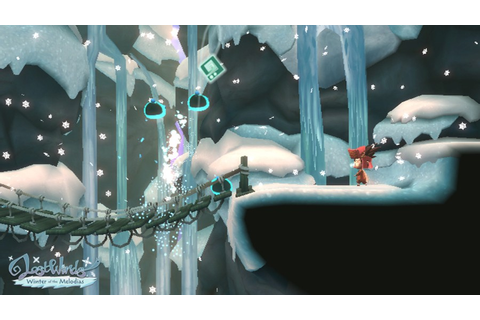 LostWinds: Winter of the Melodias (WiiWare) Screenshots