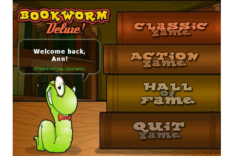 Bookworm Deluxe word game: Link letters and create words ...