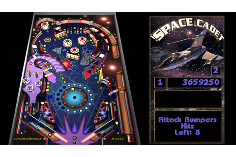 Full Tilt! Pinball - 03 - Space Cadet - YouTube