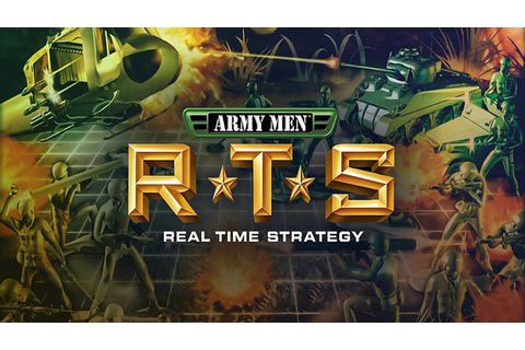 Army Men RTS - Download - Free GoG PC Games