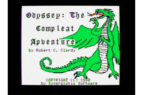 Odyssey: The Compleat Apventure - Wikipedia
