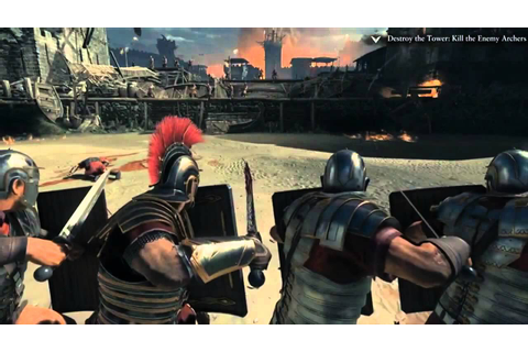 RYSE: SON OF ROME GAMEPLAY DEMO DE XBOX ONE ! - YouTube